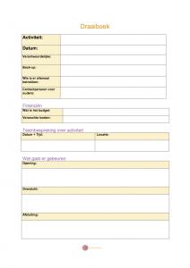 Een handig draaiboek om in jouw school meer structuur en voorspelbaarheid aan te brengen bij evenementen en terugkerende activiteiten