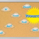Gebruik je prikbord om voorzetsels visueel te maken in je klas