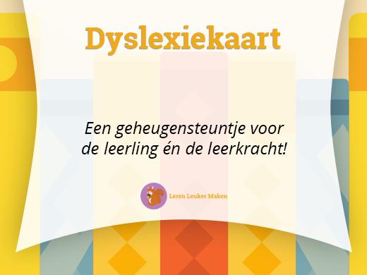 Dyslexiekaart