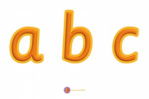 Oranje alfabet