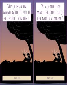 Boekenlegger Roald Dahl #1